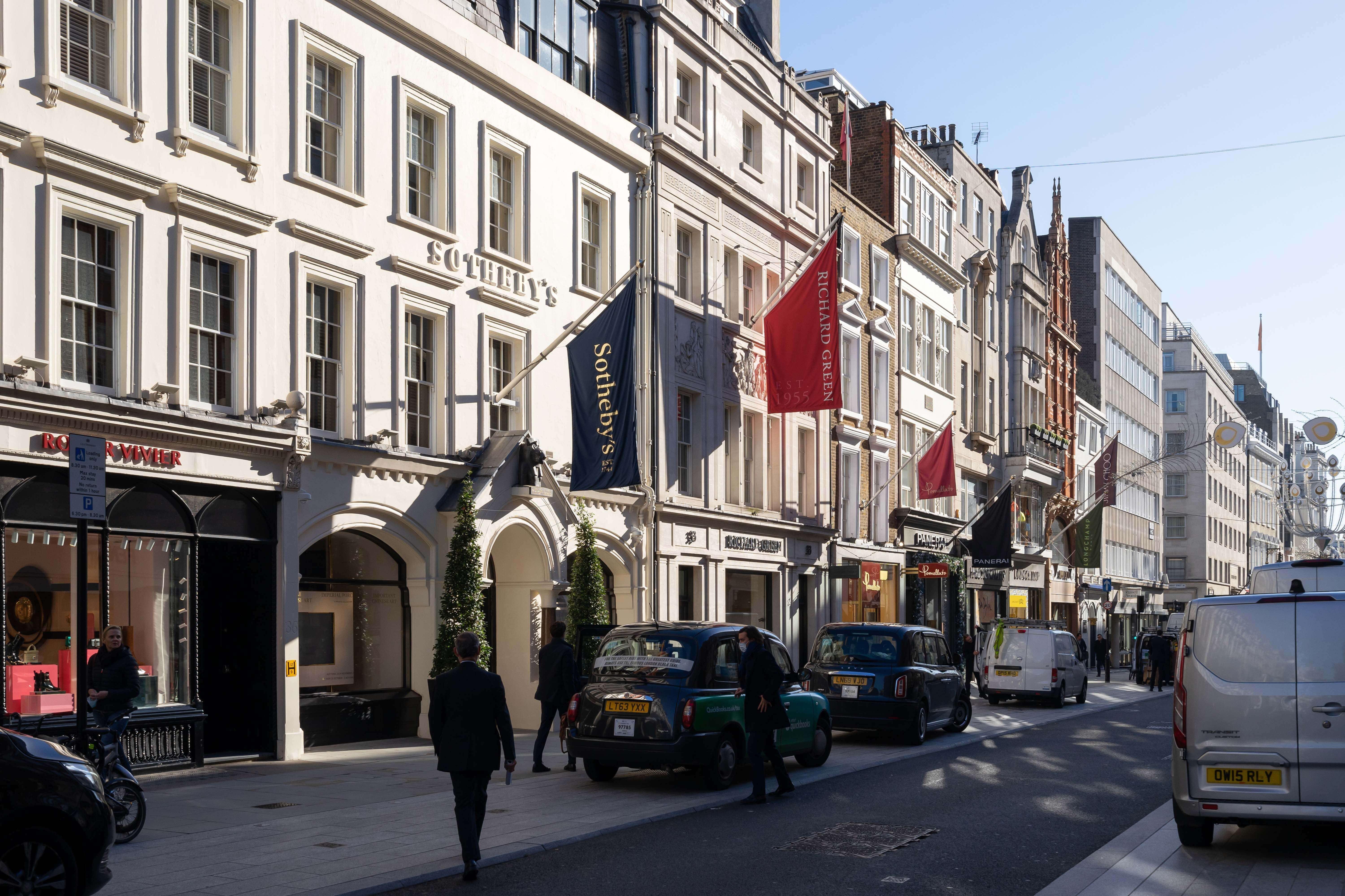 New Bond Street, Mayfair, London